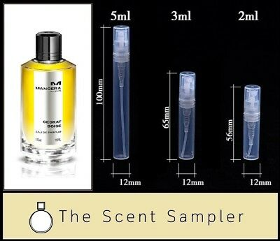 Cedrat Boise by Mancera - Choose your sample size (2ml, 3ml or 5ml)