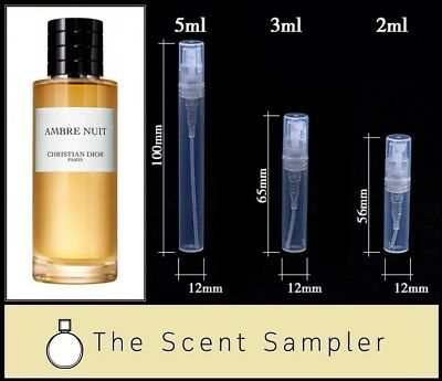 Ambre Nuit by Christian Dior - Choose your sample size (2ml, 3ml or 5ml)