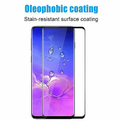Samsung Galaxy S10 S10e S10 Plus Tempered Glass Screen Protector Film 5D Curved