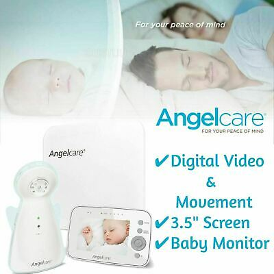 "Angelcare Digital Video Movement & Sound 3.5"" Screen Baby Monitor Sensor Pad"