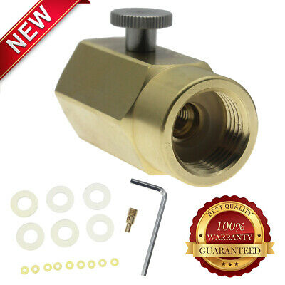 FOR FILLING SODASTREAM Tank CO2 Refill Adapter Connector Kit + Fittings  Durable