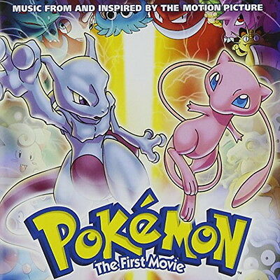 Pokemon the First Movie - US version of Pokemon movie Music Collection - CD