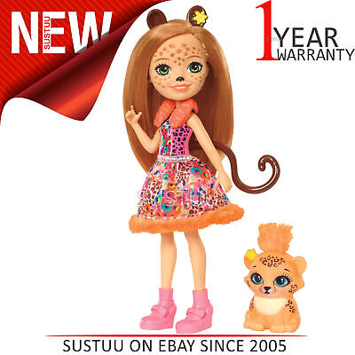 COLLECTIBLE ~ NIP ENCHANTIMALS TANZIE TIGER DOLL /& TUFT ~ by MATTEL ~ LIMITED