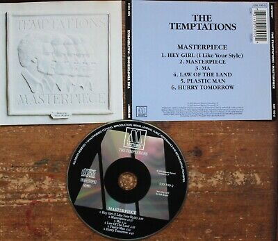 Cd Album The Temptations Rare 1973 Masterpiece 2 Ship/opt With/without Case