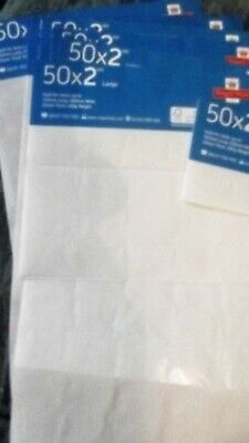 2Nd Class Large Postage Stamp Sheets (Empty) *job Lot - 9 Sheets*