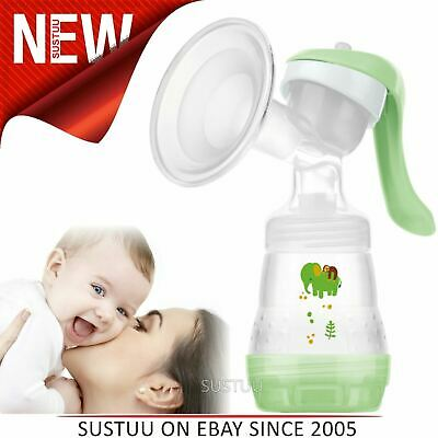 MAM 4 Cushion Manual Breast Pump│Easy & Quick To Clean│Ideal @ Home & On The Go