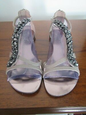 73f8fba423 SIZE 36 (AUSTRALIAN 5) Charles Keith Grey Flat Open Toed Sandals ...
