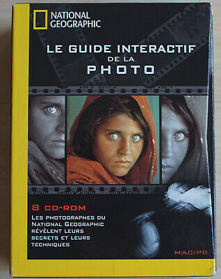 Le guide interactif de la photographie National geographie + 8 CD ROM