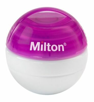 Milton Baby Mini Portable Soother Infant Pacifier 100% watertight Steriliser PUR