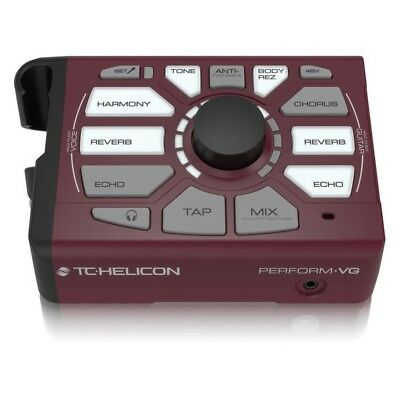 TC-Helicon Perform-VG Vocal Acoustic Multi FX Processor w Pitch Correct/Harmony