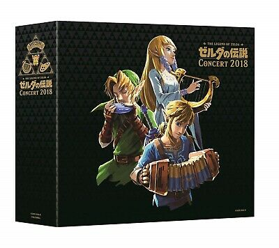 THE LEGEND OF ZELDA Concert 2018 Limited Edition CD + Blu-ray Limited Edition