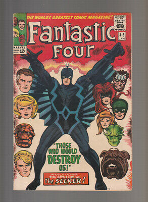 Fantastic Four # 46  Those who would Destroy Us !  grade 4.5 scarce book !