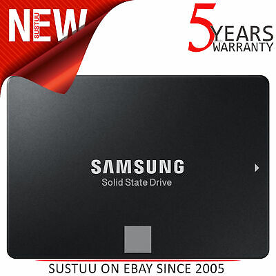 "Samsung 860 EVO 250GB 2.5"" Internal Solid State Drive│SATA III 64L V NAND│For PC"