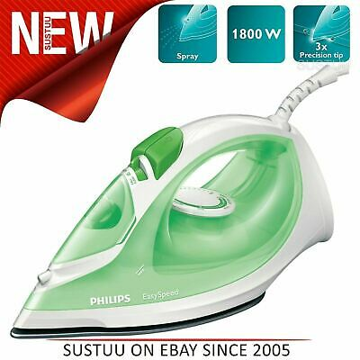 Philips EasySpeed Plus Steam Iron│Non-stick Soleplate│Triple Precision Tip│1800W