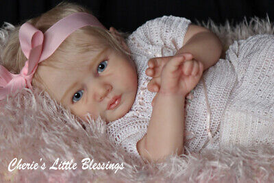 "Hand sculpted Reborn Doll Kit by Di McGavigan genuine ""BUY ONE-GET ONE FREE""!"