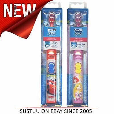 Oral-B Stages Power Kids Battery Toothbrush (Box of 8)|Disney Cars-Princess Pack