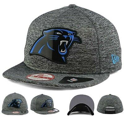 30586e924 Carolina Panthers New Era NFL Heather Gray 9FIFTY Snapback Hat Cap