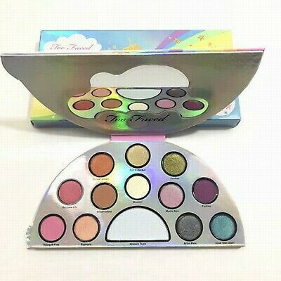 Too Faced Life's a festival peace love & unicorns palette new in box full size
