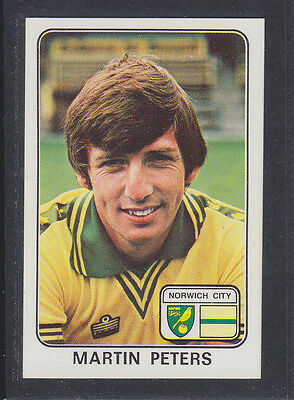 Panini - Football 79 - # 272 Martin Peters - Norwich