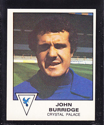 TRANSIMAGE FOOTBALL 79//80-#086-CRYSTAL PALACE-VILLA-BLACKPOOL-JOHN BURRIDGE