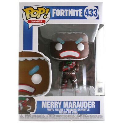 Funko POP! Games: Fortnite Merry Marauder Vinyl Figure - #433 - 34880