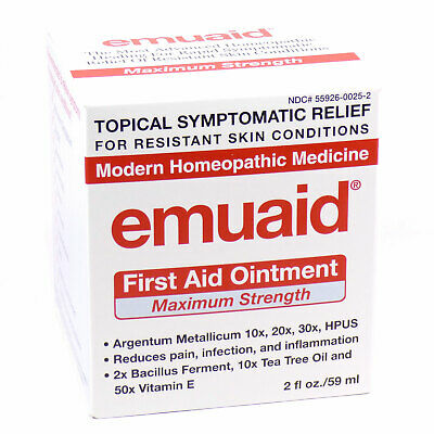 Emuaid First Aid Ointment Maximum Strength 2 oz/59 ml