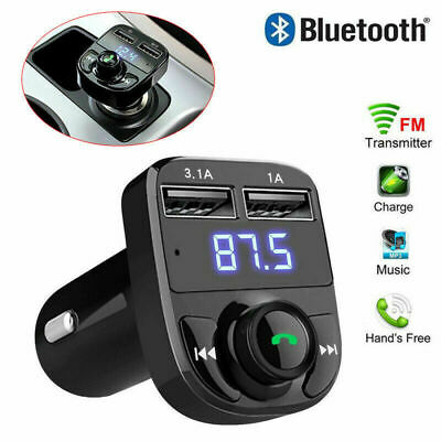 Bluetooth Auto KFZ Adapter Transmitter USB  Freisprecheinrichtung MP3 Player