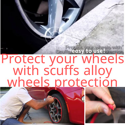 WHEEL RIMS PROTECTOR Protectors Tire Tyre by Rimblades Car Tuning SCUFFS Alloy