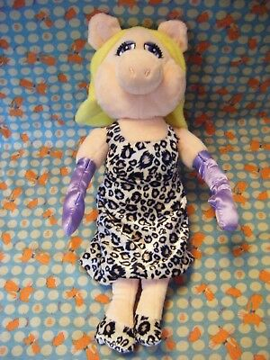 """NEW IN BOX 12/"""" MISS PIGGY FLOPSIE SOFT TOY by POSH PAWS DISNEY THE MUPPETS"""