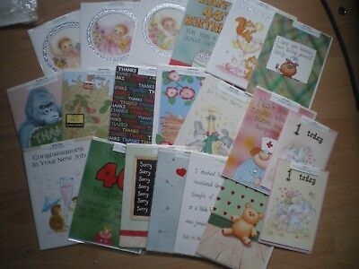 Job Lot Of Greetings Cards - New