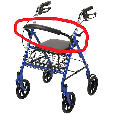 replacement CROSS BAR  FOR A Drive Medical Rollator Folding Walker