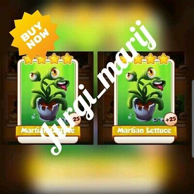 2 Martian Lettuce :- Coin Master ( Fastest Delivery )