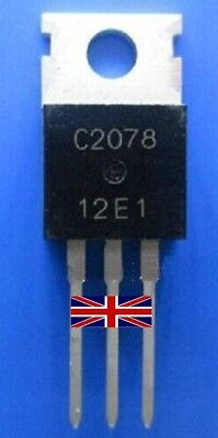 2SC2078 C2078 TO-220 Transistor from UK Seller