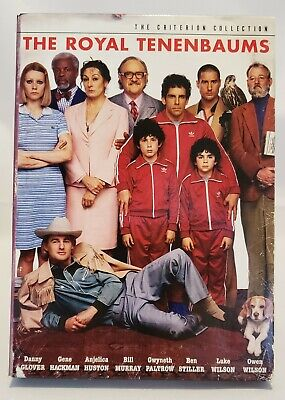 The Royal Tenenbaums (2-Disc DVD, 2001, Criterion Collection)