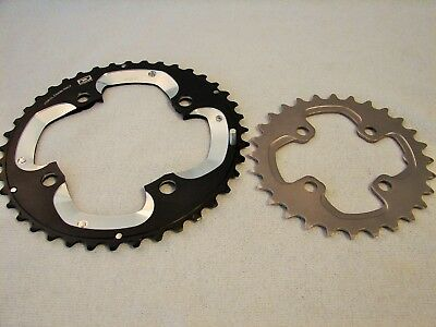 Shimano Deore XT FC-M785 Double Chainring 28T-40T-Set AJ-Type Tooth Bike 10 SPD
