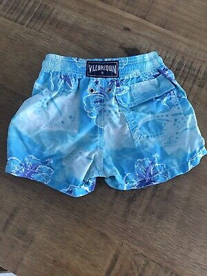49e2ff5c88f44 VILEBREQUIN TODDLER BABY Boys Swim Trunks Shorts Size 2 Ans Years ...