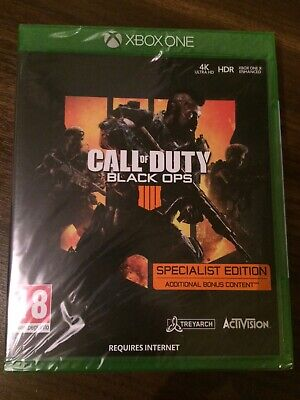 Call of Duty Black Ops 4 - Xbox one specialist edition. NEW sealed.