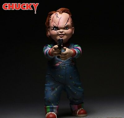 """CHILD's PLAY Bride of Chucky 1/10 Scale Horror Doll CHUCKY Action Figure 4.75"""""""