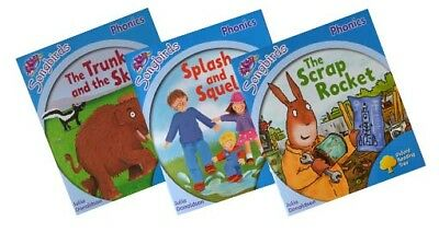 Songbirds Phonics Reading Collection by Julia Donaldson (Stage 3) (3 books)