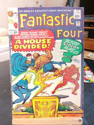 Fantastic Four Vol. 1 #34 - Marvel Comics VO US