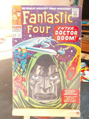 Fantastic Four Vol. 1 #57 - Marvel Comics VO US