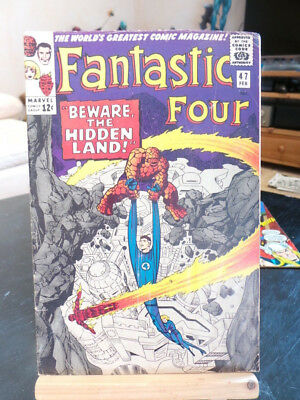 Fantastic Four Vol. 1 #47 - Marvel Comics VO US