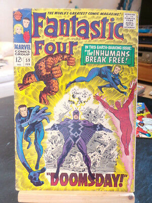 Fantastic Four Vol. 1 #59 - Marvel Comics VO US