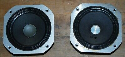 Jbl Le5-9 -Pair- 8 Ohm Midranges-Ohm & Audibly Tested-For L220 And L222 - Scarce