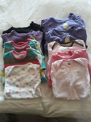 Baby girl's Clothes Bundle 3-9 & 12months  GAP, Next, Carters,Old Navy. 22 items