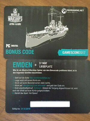 Wargaming Codes World Of Warships 2019