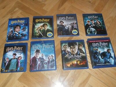Películas De Harry Potter En Blu-Ray. Ver Listado. En Perfecto Estado.