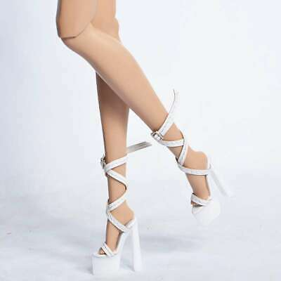 Sexy Sandals shoes for Fashion royalty FR2 Nu Face 2 poppy parker obitsu 23 27