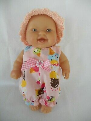 Handmade dolls clothes (Romper Suit, hat) to fit 20cm, 8 inch Berenguer doll
