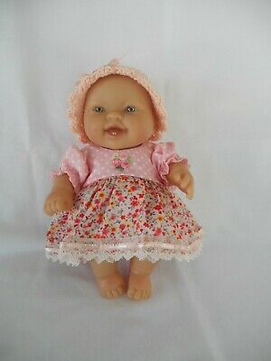Handmade dolls clothes (Dress, pants, hat set) fit 20cm, 8 inch Berenguer doll